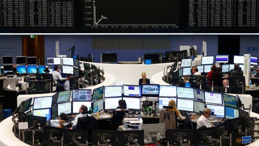 Stocks, US yields gain ahead of Fed chair Powell's Jackson Hole speech