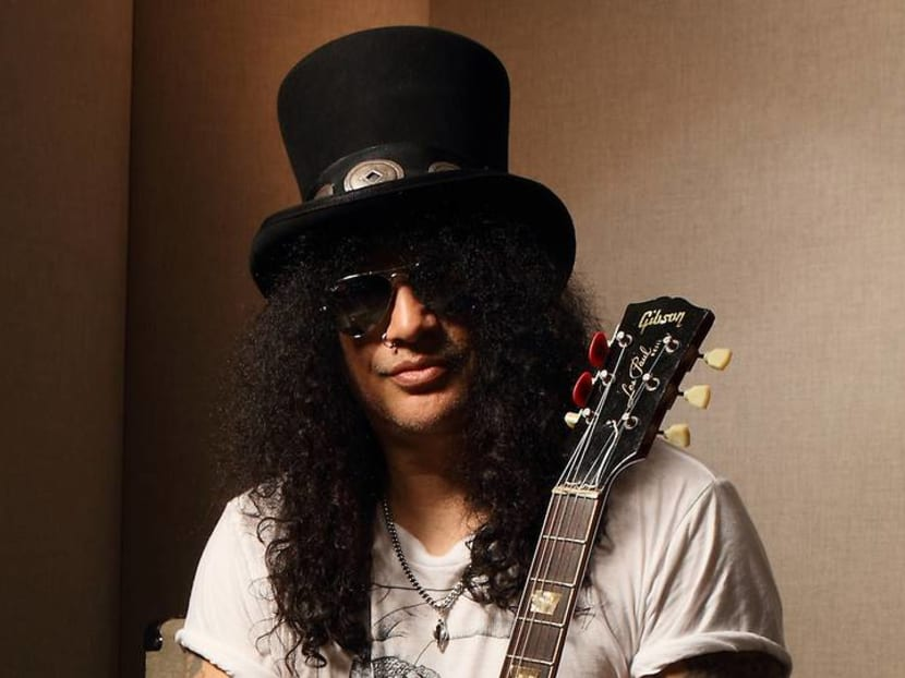 Legendary guitarist Slash on hitting the gym and accidentally leaving a band member behind
