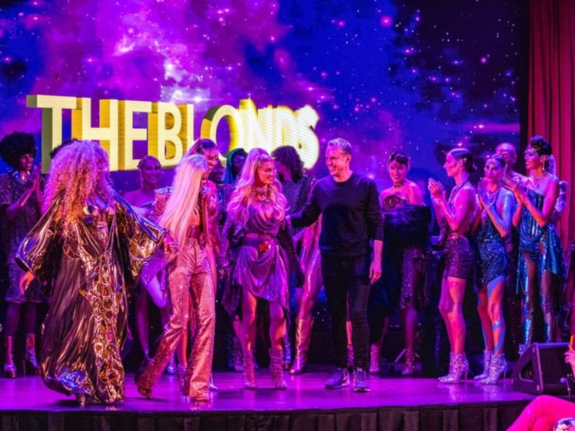 The Blonds wrap up NY Fashion Week with sparkling cabaret club show