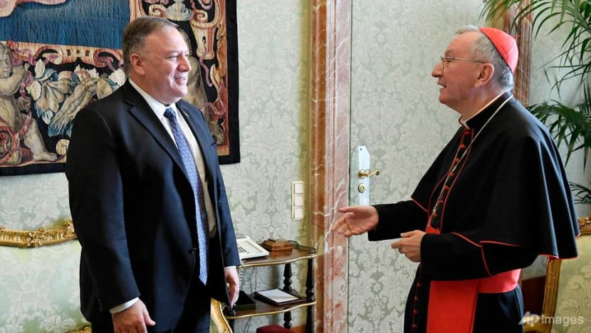 Pompeo, Vatican clash over China after tensions spill out