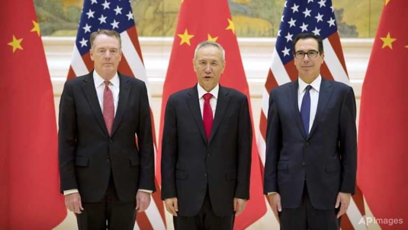 European stocks under pressure as US-China trade talks begin