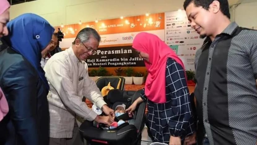 Large families in Malaysia exempted from mandatory child car seat ruling