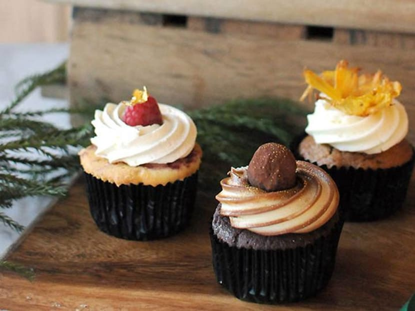 Christmas treats: Bourbon-spiked cupcakes and salted caramel cookies