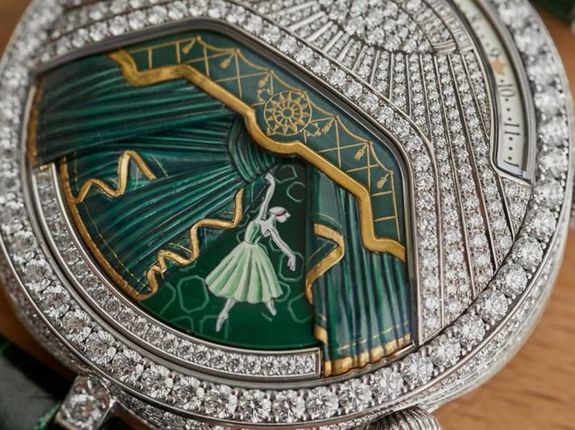 You can't watch a ballet performance, but you can admire one on your wrist