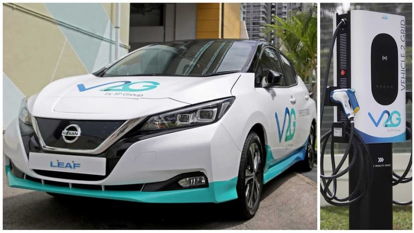 SP Group trials technology to push energy from battery of electric vehicle back to power grid