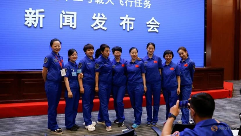 China to send three astronauts to space, including its oldest