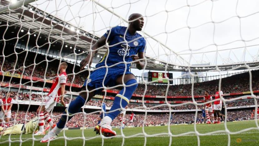 Football: Returning hero Lukaku sets Chelsea on way to 2-0 win at Arsenal