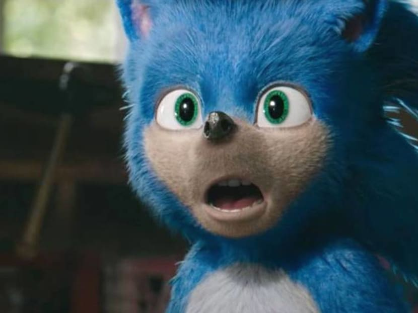 Getting prickly: Angry fans want Sonic the Hedgehog's teeth and legs fixed