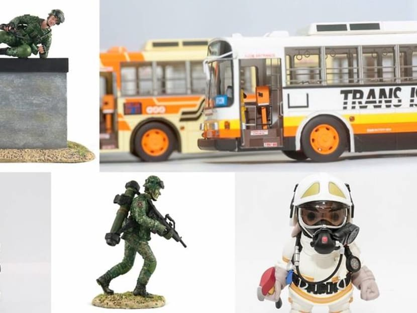 From buses to soldiers, they're creating uniquely Singapore toys for the big boys