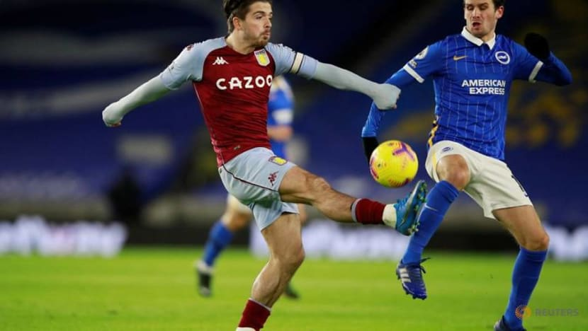 Villa's Smith hopes to have Grealish fit for Spurs clash