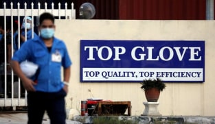 Malaysia's Top Glove quarterly earnings plunge 48% on slower sales