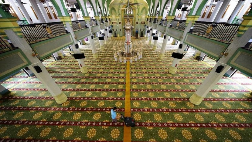 Mosques to progressively reopen from Jun 2 with limited prayer spaces for private worship