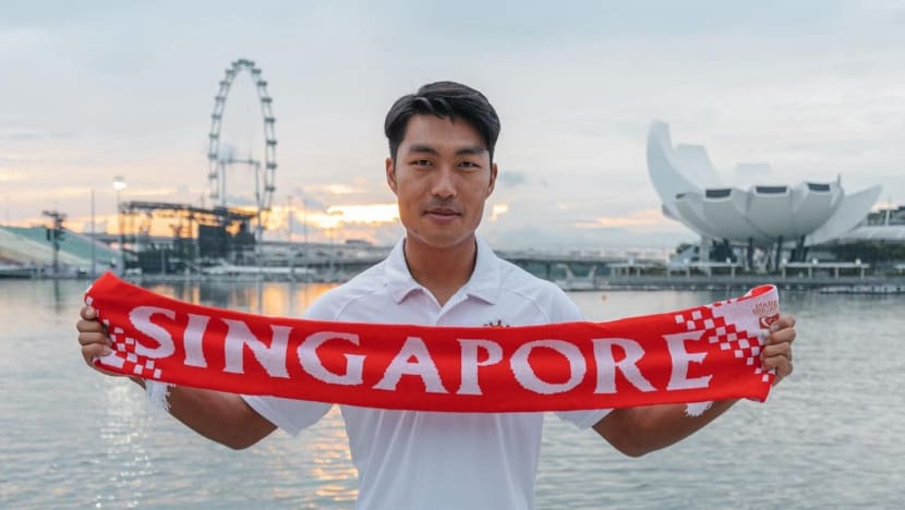 'This is the biggest milestone of my life': South Korean-born footballer Song granted Singapore citizenship