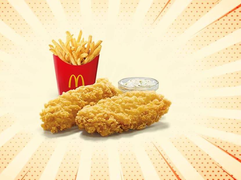 McDonald's Singapore bringing back Fish & Fries and Sweet Chilli Fish Burger