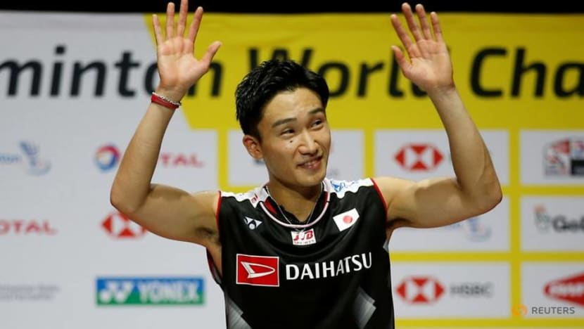 Badminton: Japan's Momota eyes Olympic gold after recovering from crash
