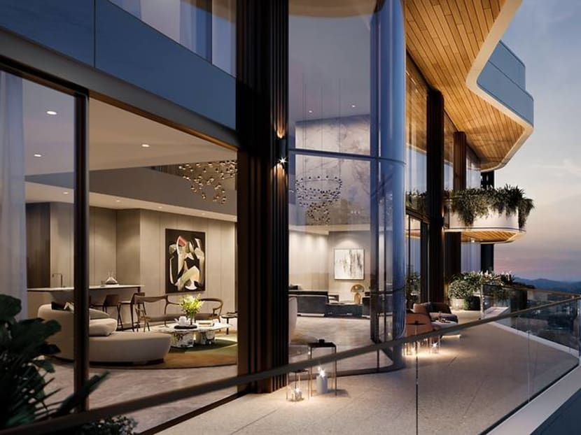 A 5-bedroom penthouse on Orchard Boulevard sold for S$34.44m