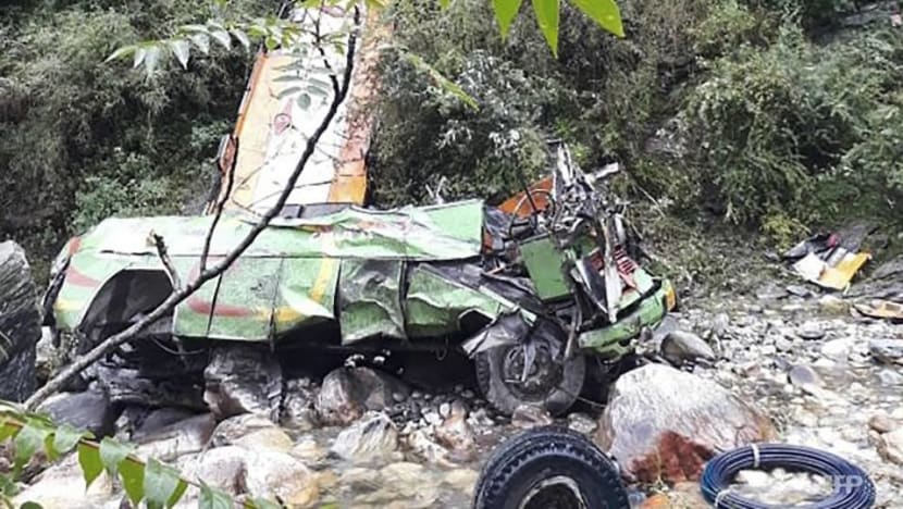 44 dead in India after bus plunges into gorge: Officials