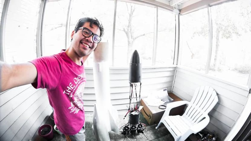 Meet the Malaysian enthusiast who builds and launches amateur rockets