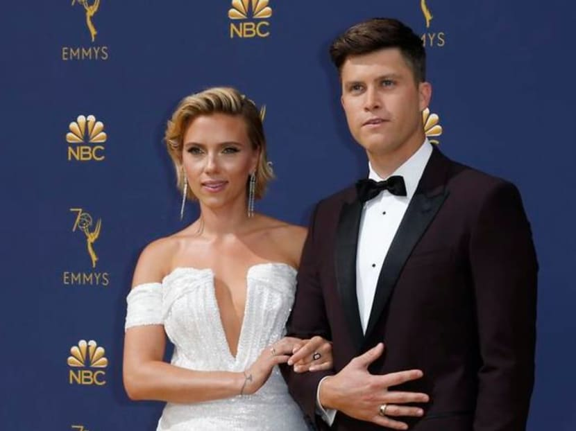 Avengers' Scarlett Johansson and SNL's Colin Jost are now officially engaged
