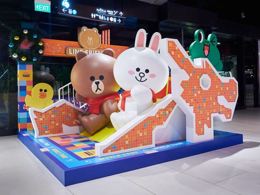 Cameras ready: Brown, Cony, Choco and other Line Friends come to Singapore