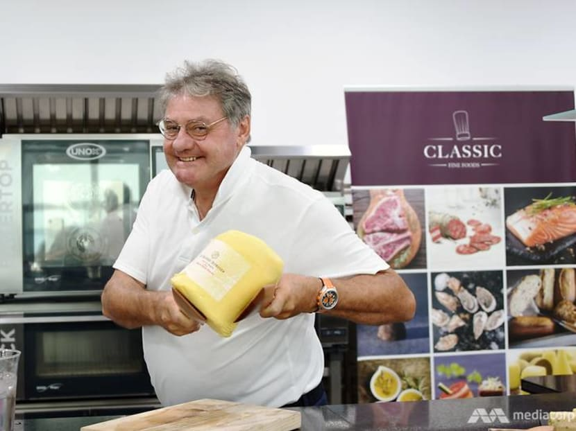He's legen-dairy: The Frenchman who makes the world's best butter by hand