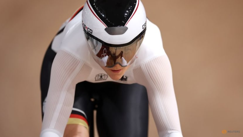 Olympics-Cycling-Friedrich tops sprint qualifying to lead German medal charge