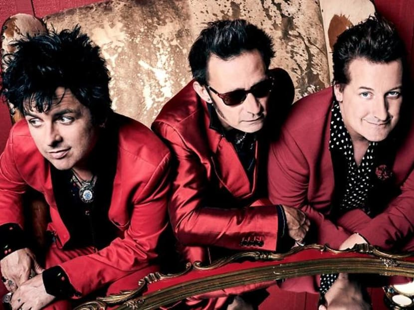 Rock band Green Day announces rescheduled concert date in Singapore