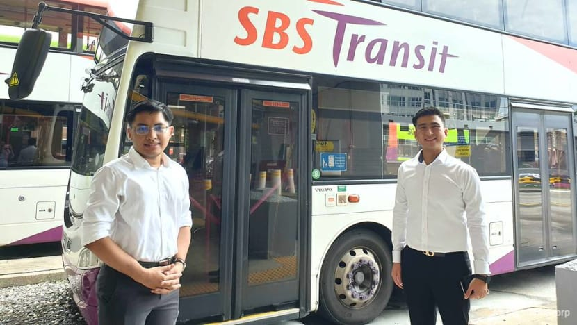 Two men recognised for helping driver during alleged assault; SBS Transit considering protective shields in buses