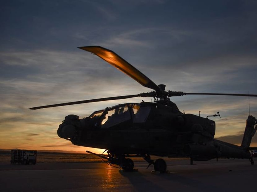 Exercise Forging Sabre: Apache, fighter pilots get enemy data faster with help of AI