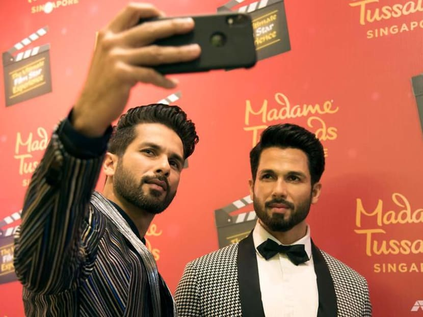 Shahid Kapoor confronts himself – unveiling his wax figure in Singapore