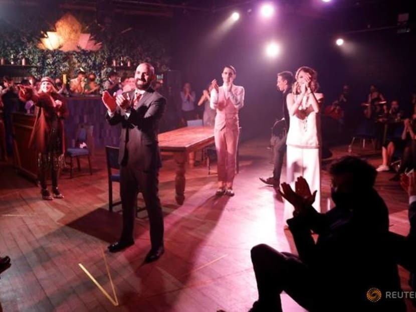 Rousing emotion as The Great Gatsby reopens in London's West End