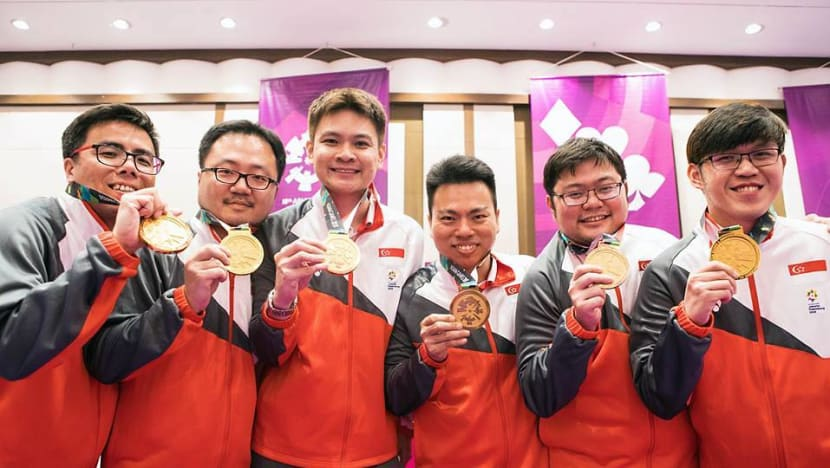 Historic gold for Singapore's contract bridge men's team at Asian Games
