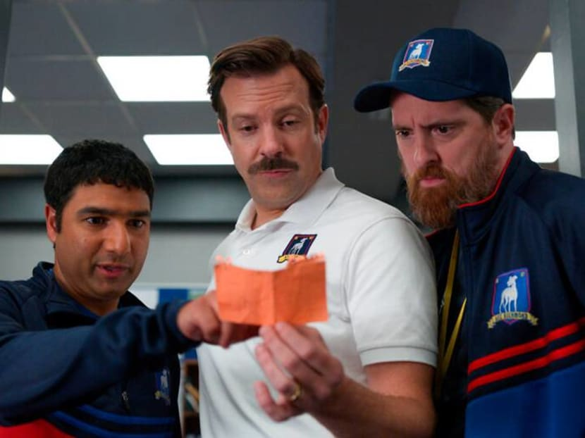 Underdog football comedy Ted Lasso finds itself the big dog with Emmy nods