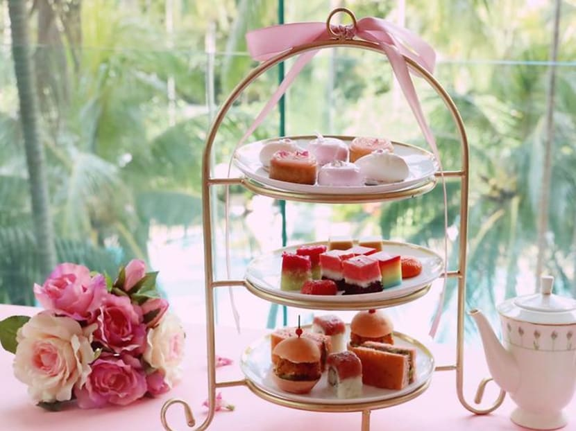 This high tea set at Shangri-La Hotel raises awareness on breast cancer research