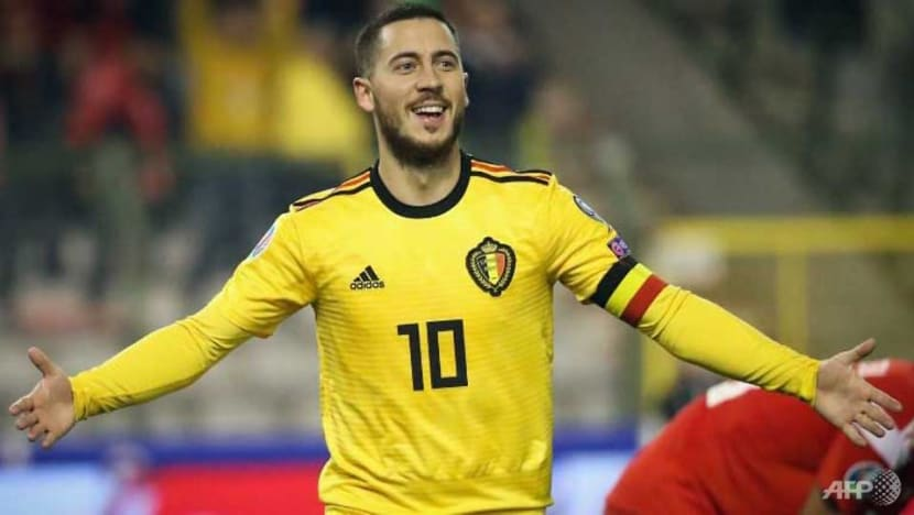 Football: Hazard lifts Belgium in Euro qualifying as Depay triggers Dutch rout