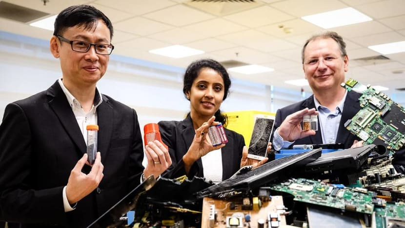 New S$20 million lab to develop less toxic e-waste recycling methods