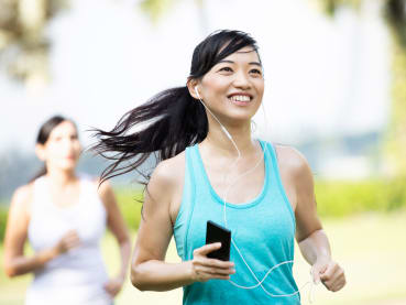What's the secret to running better? Try distraction