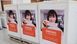 More than 100,000 doses of Sinovac COVID-19 vaccine arrive in Singapore