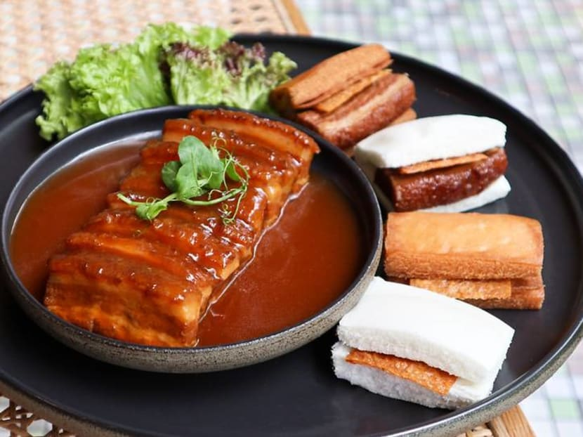 Braised pork belly, salt baked chicken: Min Jiang presents local dialect favourites