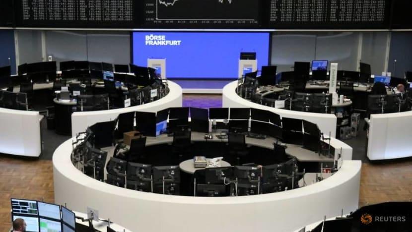 US stocks rebound following rout, bond yields edge down