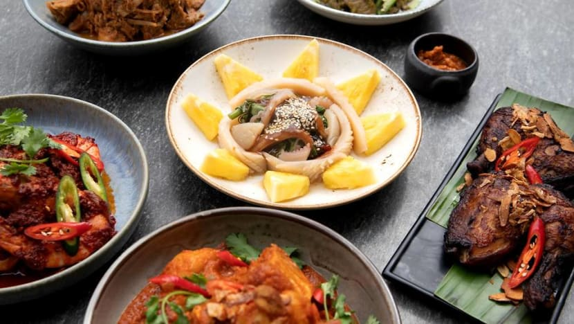 MasterChef Singapore judge introduces new heritage dishes at his restaurant, Kin