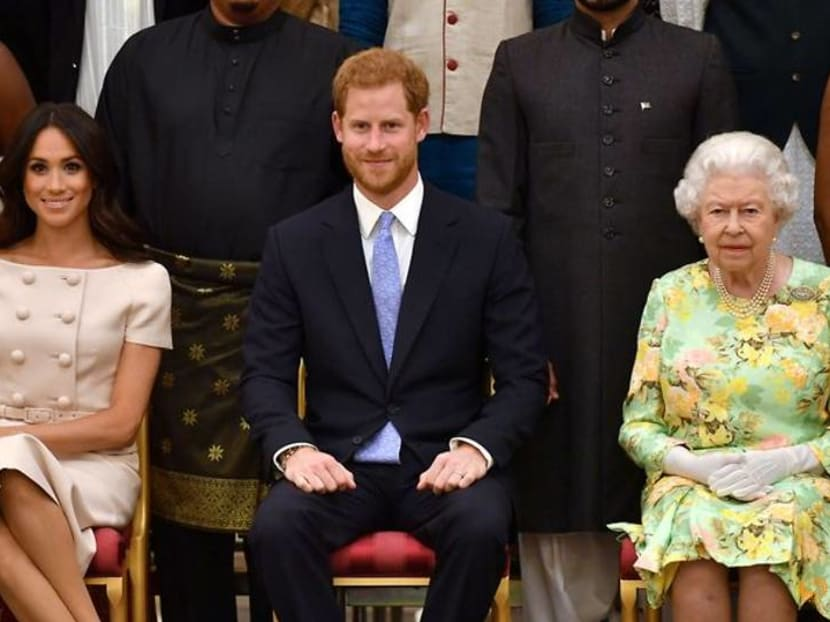 Queen Elizabeth says saddened by Prince Harry and Meghan's experiences
