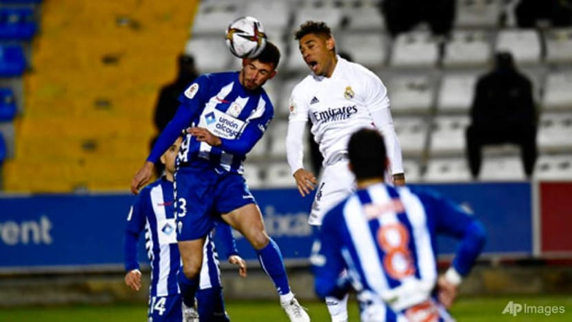Football: Real Madrid sent packing from Cup by tiny Alcoyano