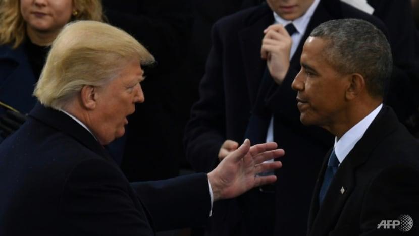 Trump versus Obama on final US campaign weekend