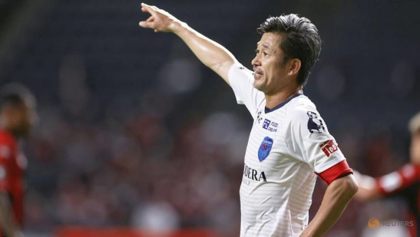 Football: Japan's 'King Kazu' to play on at 54 after signing extension