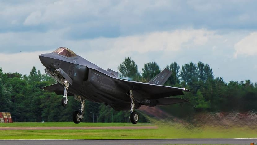 Singapore identifies F-35 fighter jet to replace F-16s, expects to buy 'small number' for full testing