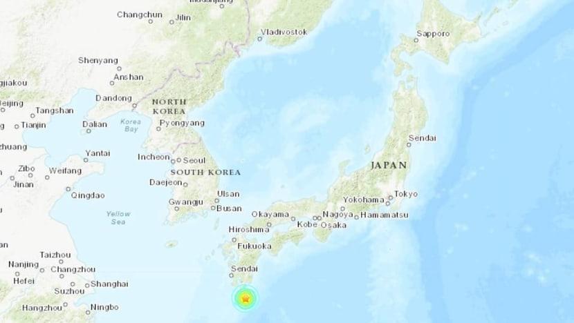 6.4-magnitude earthquake strikes off south Japan