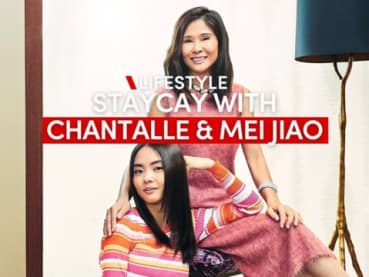 Staycay skincare with Chantalle Ng and Lin Mei Jiao | CNA Lifestyle