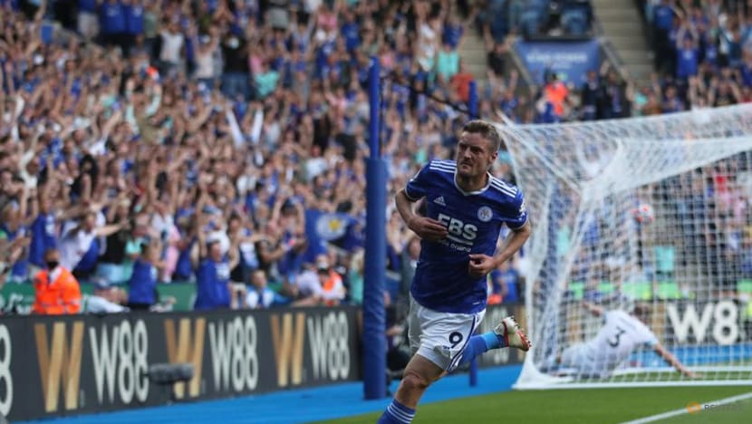 Football: Leicester's Vardy scores at both ends in 2-2 draw with Burnley
