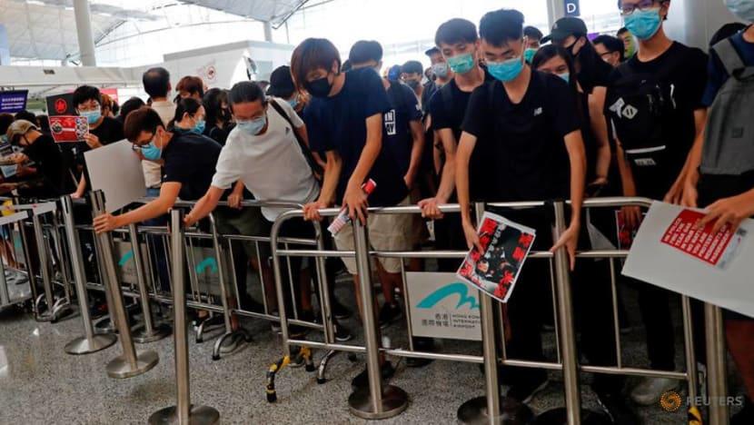 More than 5,000 protesters at Hong Kong airport: Police